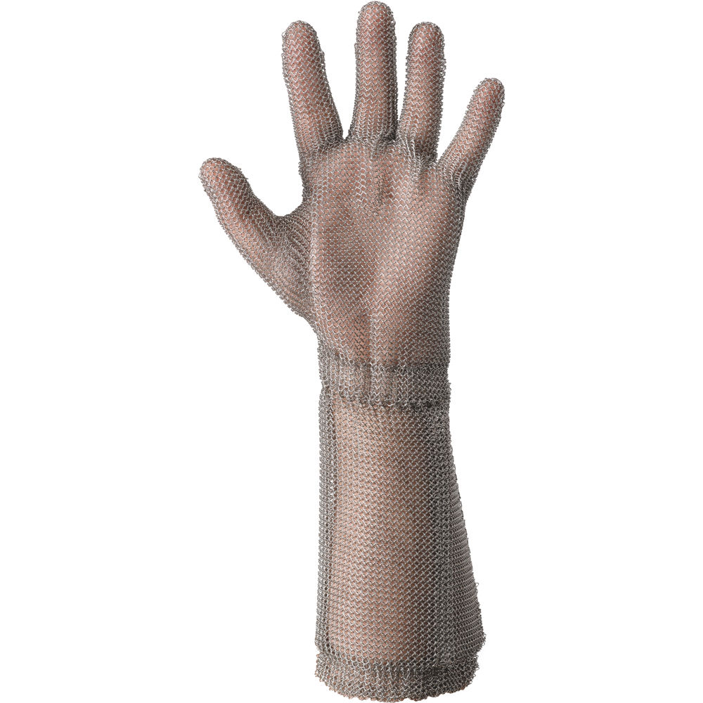 GUANTO in maglia d'acciaio antiscannamento Wilco lungo