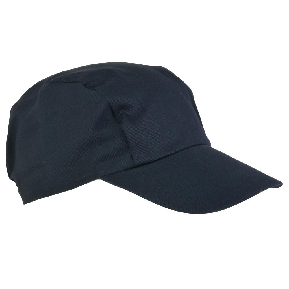 Cappellino a 3 pannelli con visiera precurvata in cotone