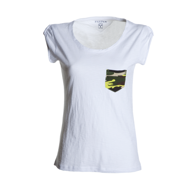 T-Shirt Donna Payper Discovery Pocket Lady