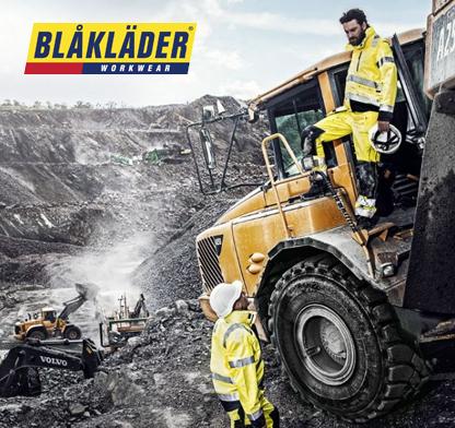Visualizza il catalogo Blaklader. Abbigliamento professionale