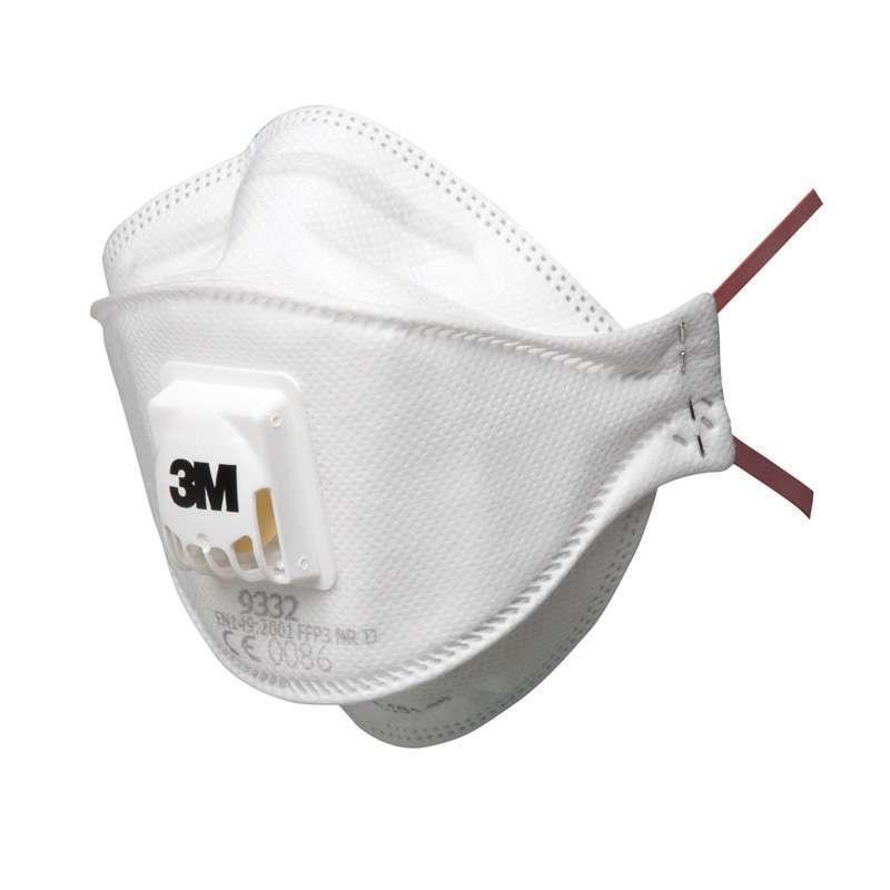 Maschera 3M 9332 FFP3 Respiratori per Polveri/Nebbie