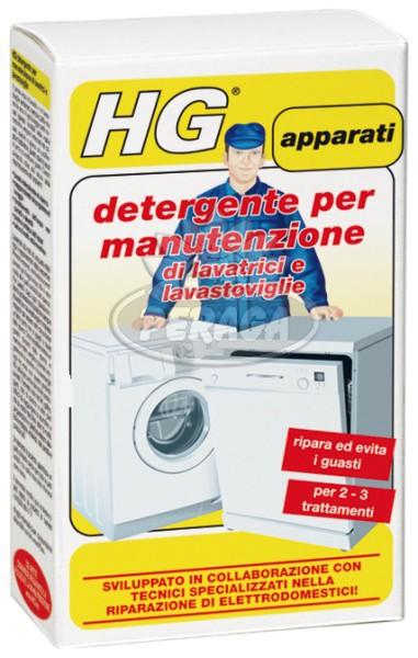 HG Detergente per manutenzione di lavatrici e lavastoviglie 2×100 ml