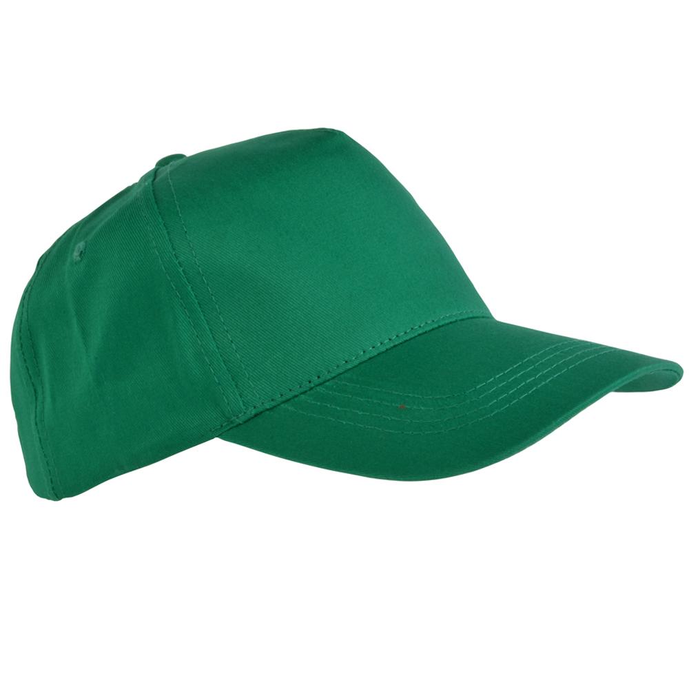 Cappellino tipo Baseball in cotone,5 pannelli, per bambino
