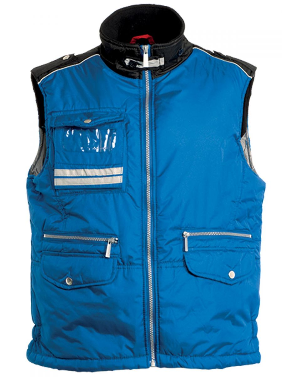 Gilet bicolore dal design casual,FALCON.