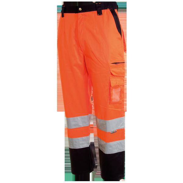 Pantalone bicolore in alta VISIBILITÀ con bande vizlife,TRACK.